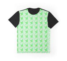 Sta, Sta, Stairs (GREEN) Graphic T-Shirt