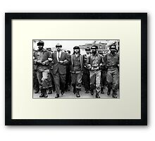 Classified Che Framed Print