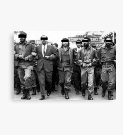 Classified Che Canvas Print
