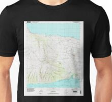 USGS TOPO Map Hawaii HI Molokai Airport 349595 1993 24000 Unisex T-Shirt