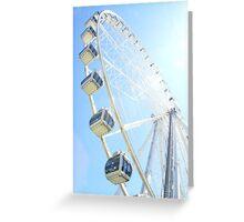 Ferris Wheel - Colour Greeting Card