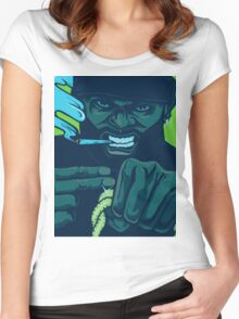 Killer Mike Run the Jewels Women's Fitted Scoop T-Shirt