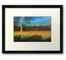 Bunyip Creek Framed Print