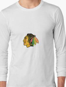 ChicagoBlackhawksLogo.svg Long Sleeve T-Shirt
