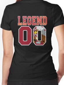 Legend 00 Entei Women's Fitted V-Neck T-Shirt