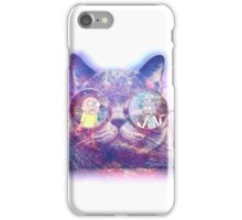 Rick and Morty Galaxy Cat iPhone Case/Skin