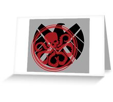 Hail Hydra Greeting Card