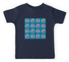 Danita's World In Dots Kids Tee