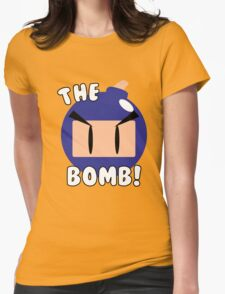 The Bomb! Womens Fitted T-Shirt