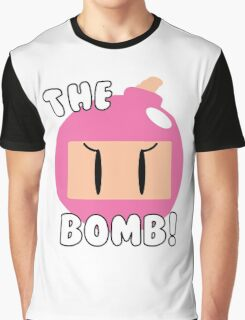 The Bomb! ~ Bomberwoman Graphic T-Shirt