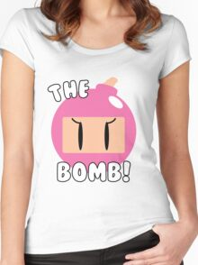 The Bomb! ~ Bomberwoman Women's Fitted Scoop T-Shirt