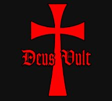 Deus Vult With Templar Cross Unisex T-Shirt