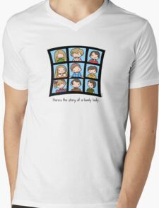 The Brady Bunch Mens V-Neck T-Shirt