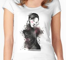 Inky Dream 2 Women's Fitted Scoop T-Shirt