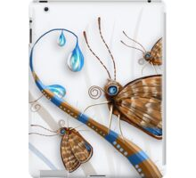 Butterflies and Raindrops iPad Case/Skin