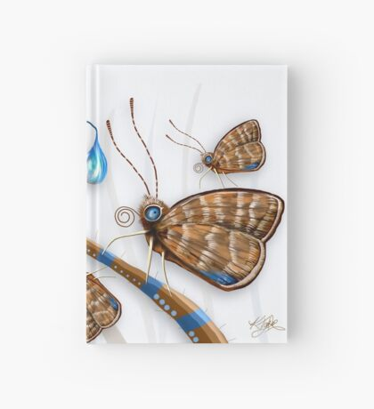 Butterflies and Raindrops Hardcover Journal