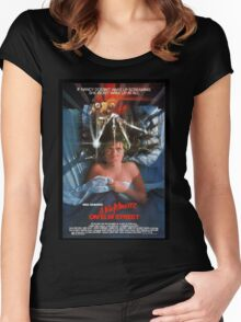A Nightmare On Elm Street Women's Fitted Scoop T-Shirt