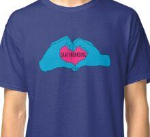 I love skateboarding Classic T-Shirt