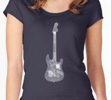 RockBand - Guitar Controller - X-Ray Image Women's Fitted Scoop T-Shirt