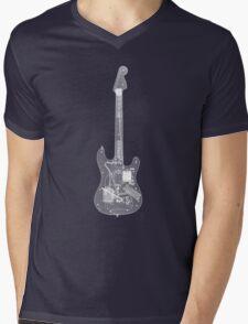 RockBand - Guitar Controller - X-Ray Image Mens V-Neck T-Shirt