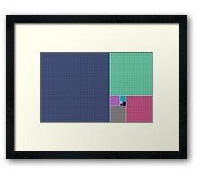 Golden Ratio Framed Print