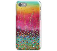 Brand New Day - Colourful Flower Meadow iPhone Case/Skin