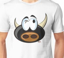 Torito pensativo Unisex T-Shirt