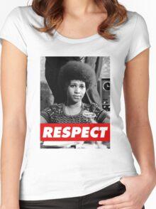 R.E.S.P.E.C.T. Women's Fitted Scoop T-Shirt