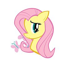 MLP: Fluttershy Photographic Print