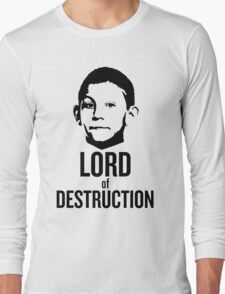 Dewey Malcolm in The Middle Lord of Destruction Long Sleeve T-Shirt