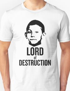 Dewey Malcolm in The Middle Lord of Destruction T-Shirt