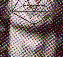 Morrison´s icosahedron Sticker