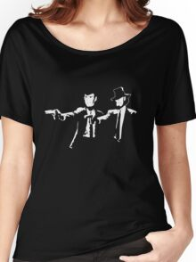 Lupin Jigen Pulp Fiction Lupin The Third Women's Relaxed Fit T-Shirt