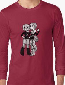 Kim Pine and Ramona Flowers Long Sleeve T-Shirt