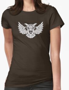 Owl Sight Womens Fitted T-Shirt