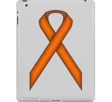 Orange Standard Ribbon iPad Case/Skin