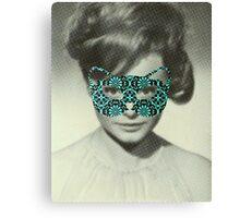 Rocio Durcal´s mask Canvas Print