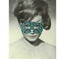 Rocio Durcal´s mask Photographic Print