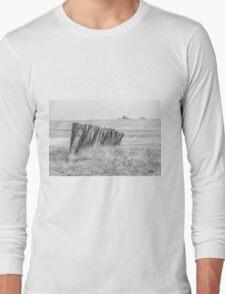 Prairiehenge - BW Long Sleeve T-Shirt