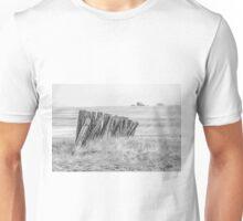 Prairiehenge - BW Unisex T-Shirt