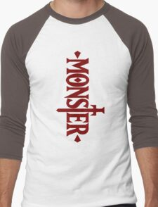 Monster Anime Manga Men's Baseball ¾ T-Shirt