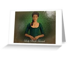 Lady Broch Tuarach oil painting  Greeting Card