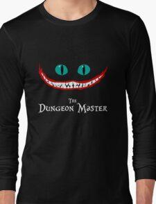 Chever Cat Dungeon Master Alice in Wonderland Joker Smile Long Sleeve T-Shirt