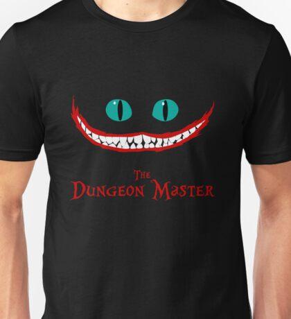 The Dungeon Master Chever Cat Alice In Wonderland Joker Unisex T-Shirt