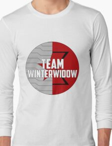 Team WinterWidow Long Sleeve T-Shirt