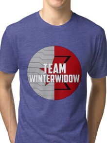 Team WinterWidow Tri-blend T-Shirt