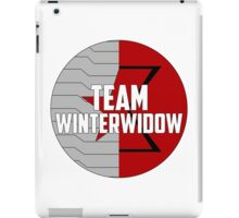 Team WinterWidow iPad Case/Skin