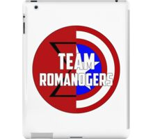 Team Romanogers iPad Case/Skin