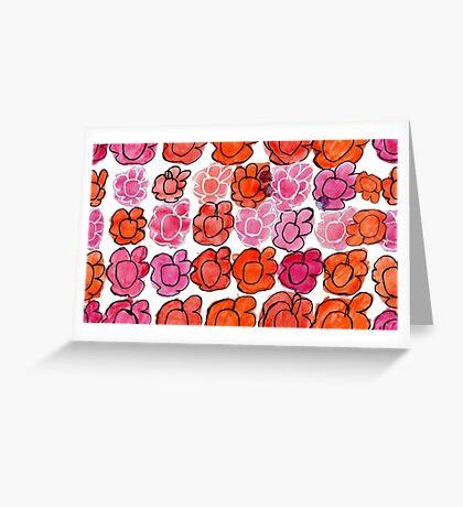 Bianca's Flowers Greeting Card