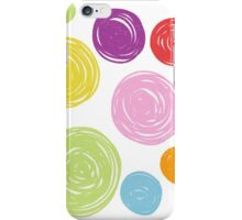 Circles by Clare iPhone Case/Skin